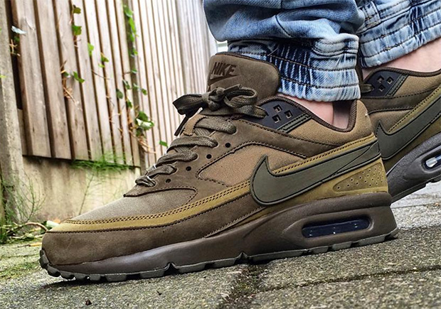 nike air max bw marron