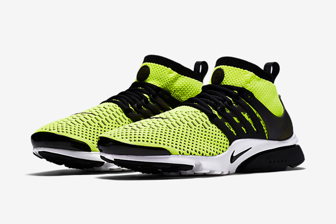 good service detailed images save off Nike Air Presto Ultra Flyknit Volt