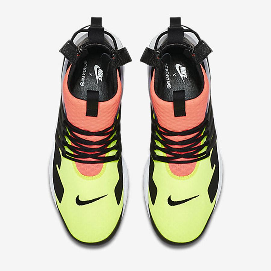 Acronym x NikeLab Air Presto Mid 'Neon'