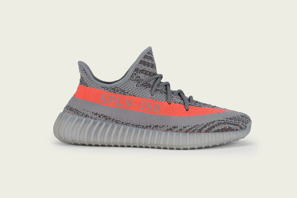 adidas yeezy grise et orange