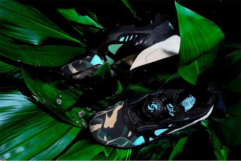 atmos x Puma Disc Blaze Night Jungle