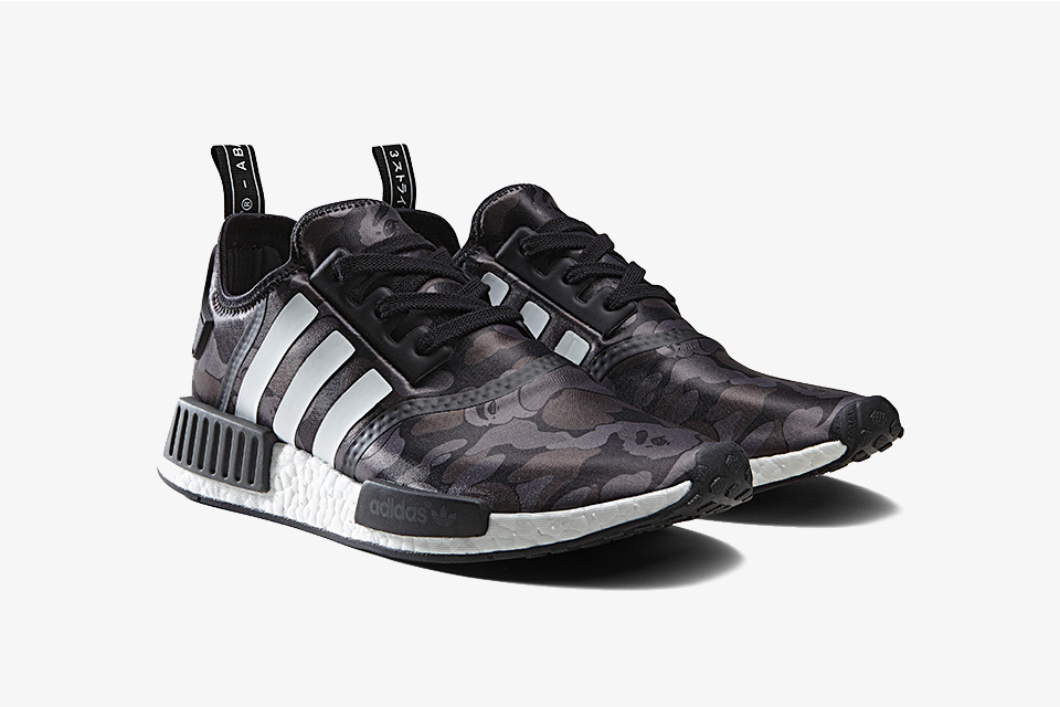 separation shoes 390f1 a90d0 BAPE x adidas NMD R1 Pack
