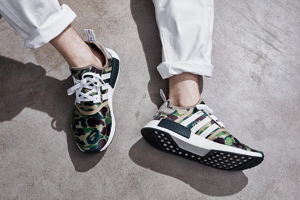 850a037e3 BAPE x adidas NMD R1 Pack - Le Site de la Sneaker