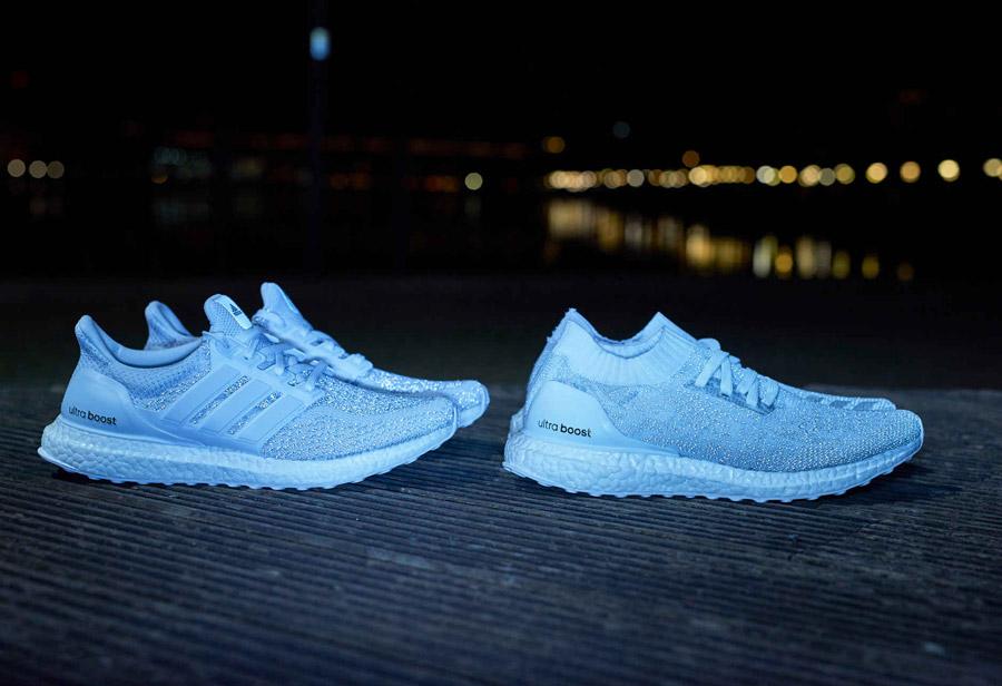 a72de3285 adidas Ultra Boost White Reflective Pack - Le Site de la Sneaker
