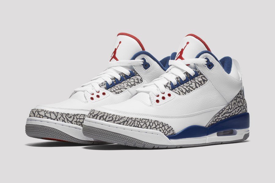 air jordan 3 true blue 2016 le site de la sneaker. Black Bedroom Furniture Sets. Home Design Ideas