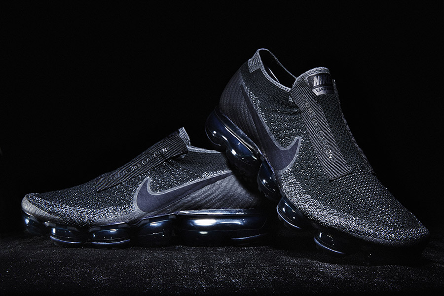 low priced 48620 c8587 Comme des Garcons x Nike VaporMax Black