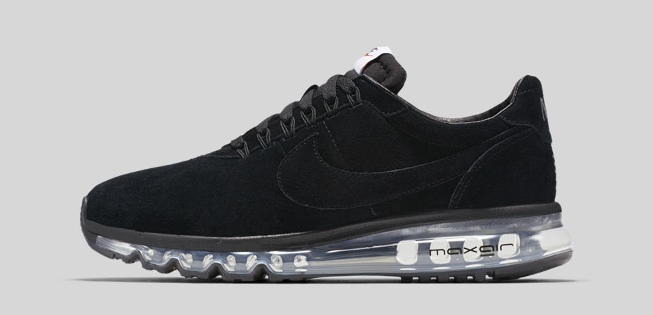 wholesale dealer 4fb98 afbba ... Nike Air Max LD-Zero Suede Black ...
