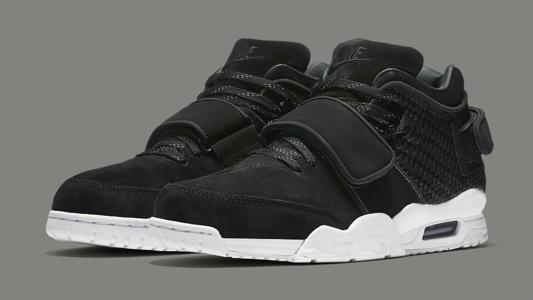 Nike Air Trainer Cruz Black Suede