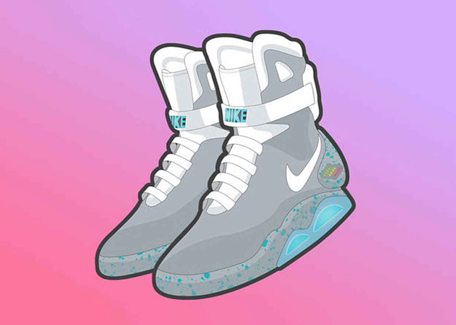 Nike Mag Stickers