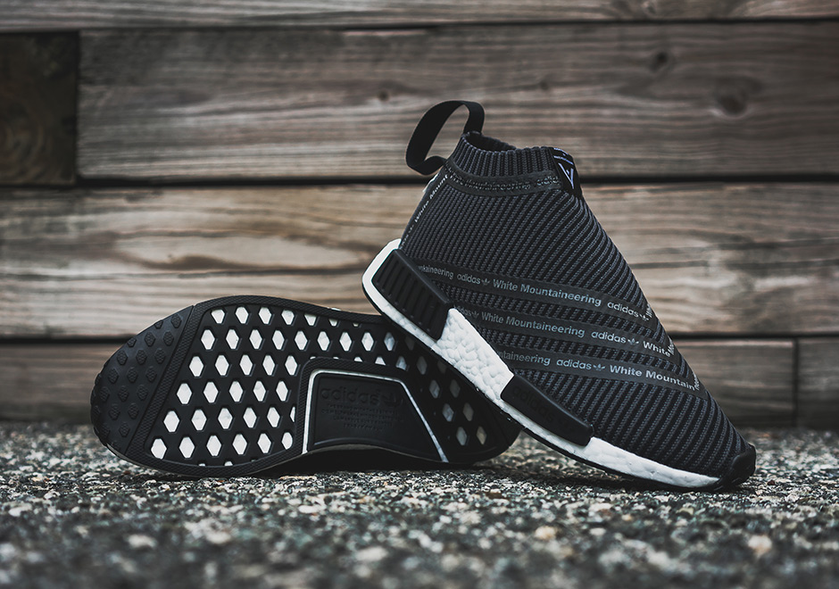 adidas Originals x White Mountaineering NMD City Sock Black