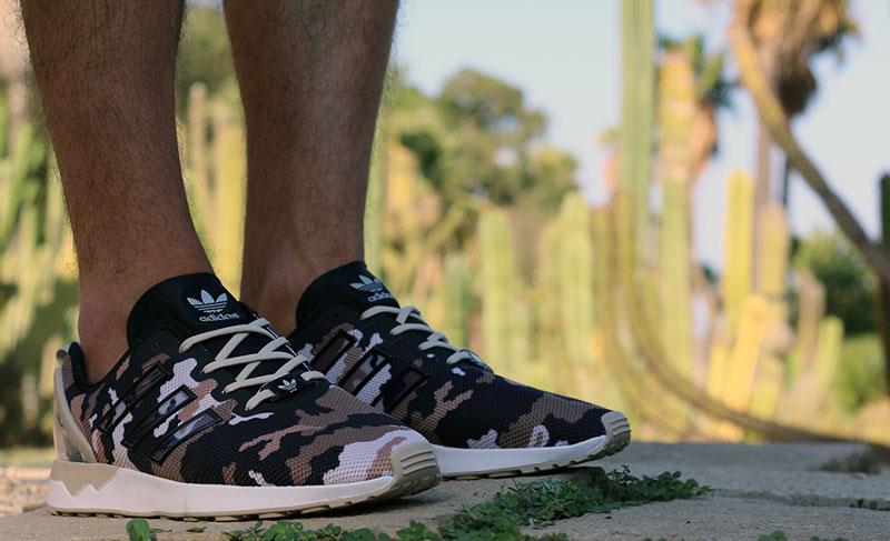 best value 42d07 b7b92 Adidas x LSDLS Mi ZX Flux ADV Camo - Le Site de la Sneaker
