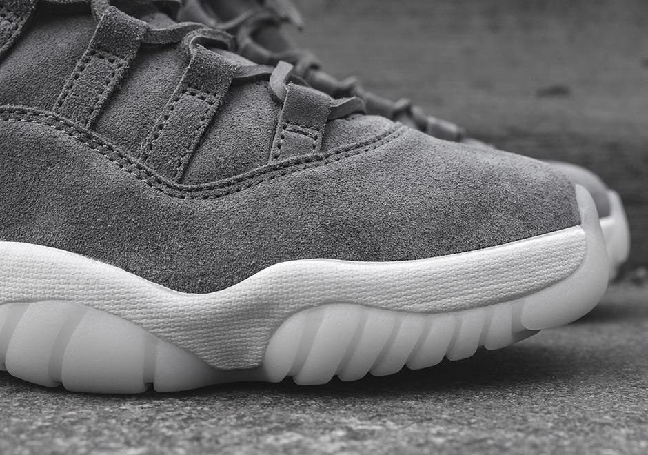 0409adb2bd2 Air Jordan 11 Premium Cool Grey - Le Site de la Sneaker