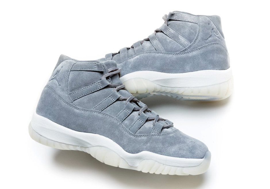 Air Jordan 11 Grey Suede