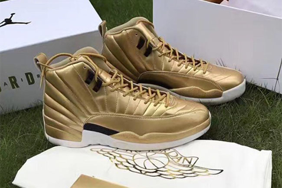 Air Jordan 12 Pinnacle Metallic Gold