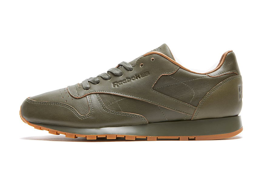 Kendrick Lamar x Reebok Classic Leather Lux Green