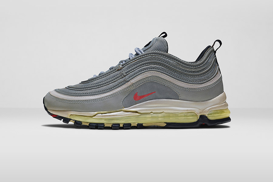 Air Max 97 Cheap Nike 312641 062 black/varsity red flint grey neutral