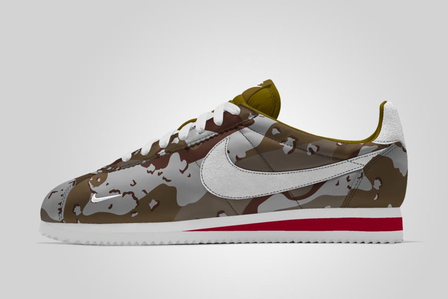 Acercarse Inspirar cirujano  Nike Cortez iD Camo & Mini Swoosh - Le Site de la Sneaker
