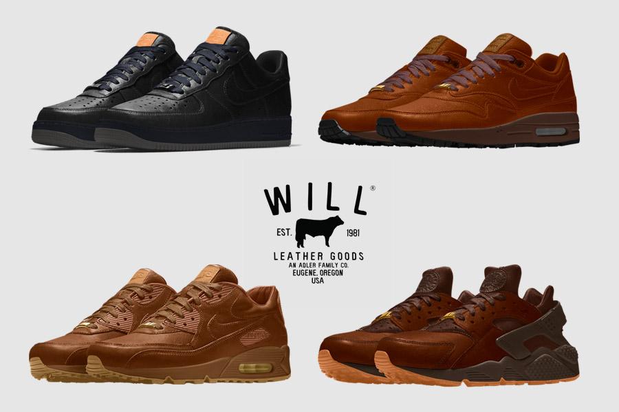NIKEiD x Will Leather Goods Collection Le Site de la Sneaker