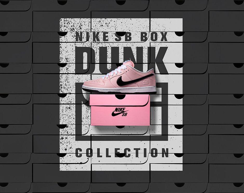 promo code 759d3 85f0b Nike SB Dunk Low Pink Box