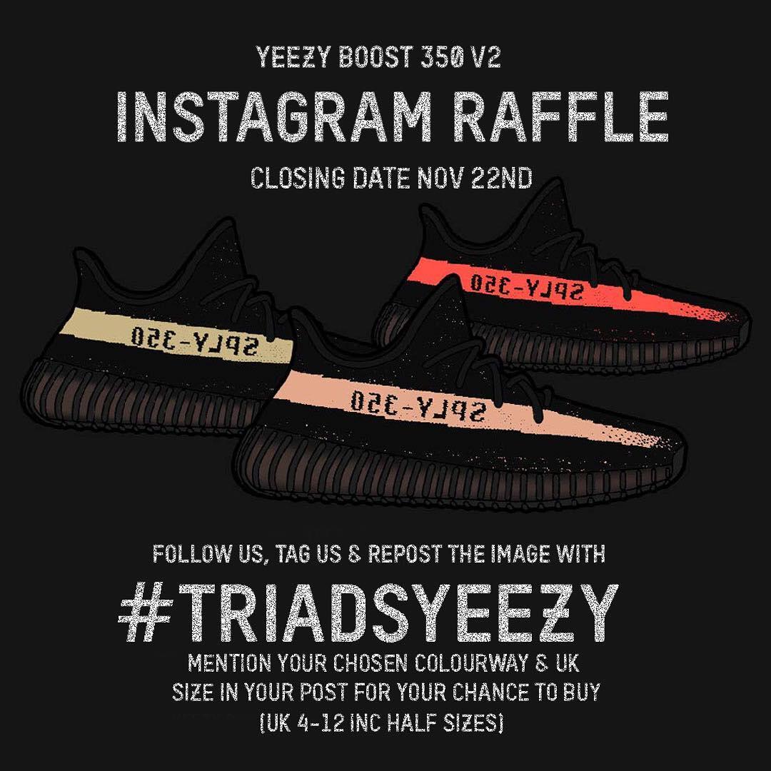 Triads Yeezy Raffle