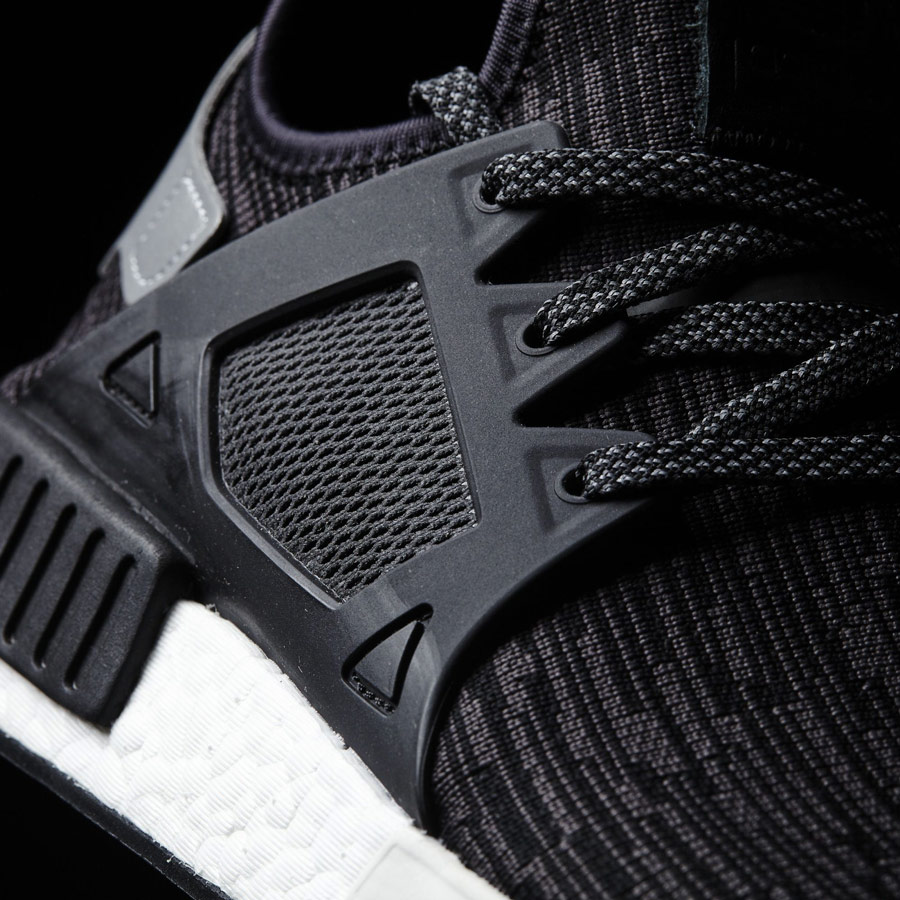 detailed pictures 5957a e05c0 adidas-nmd-xr1-primeknit-black-2