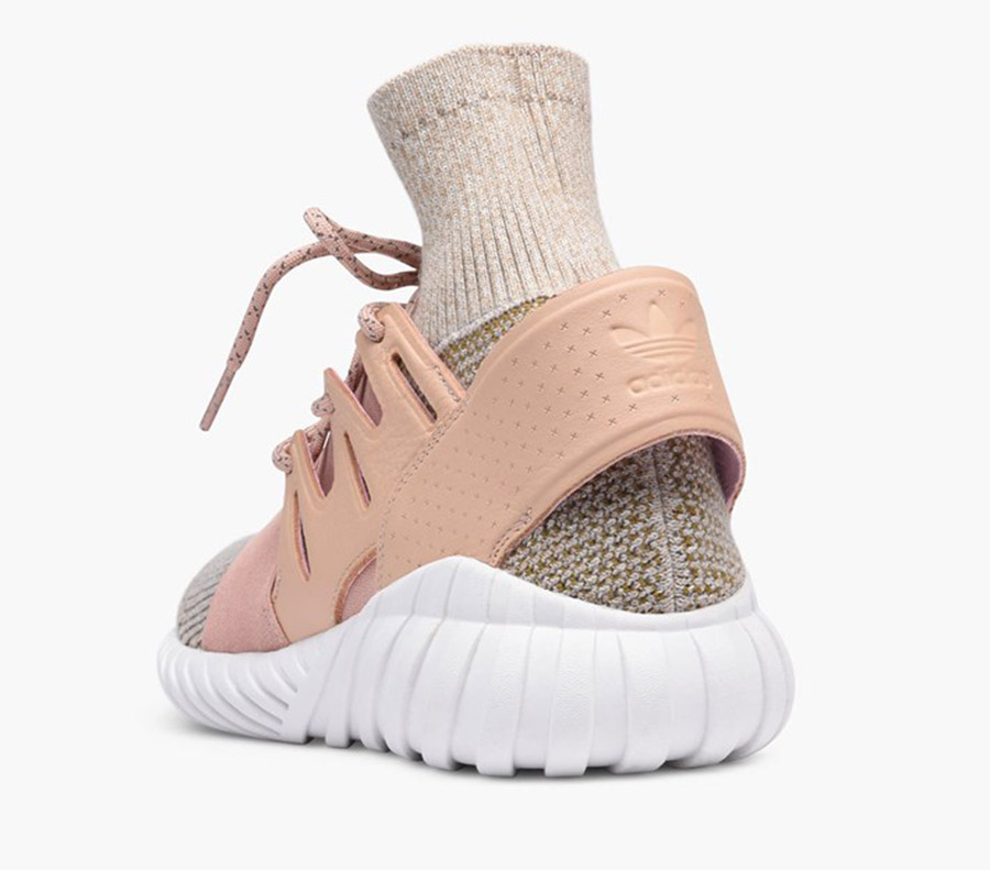 adidas tubular rose pale