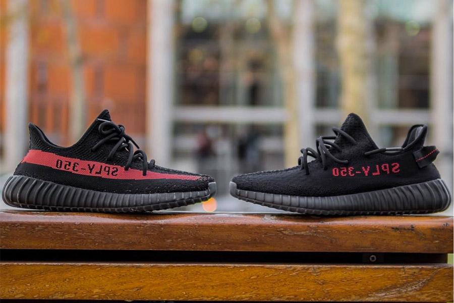 Adidas Yeezy Boost 350 V2 Svart Rød «avlet» wGQYxiJP