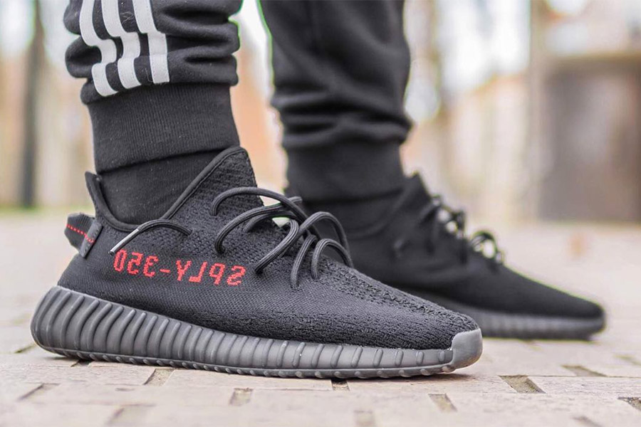 Adidas Yeezy 350 Boost V2 Core Black Core Red Preview