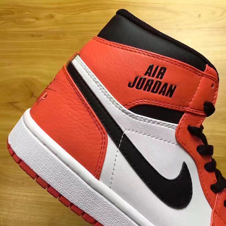 air jordan 1 blanc orange