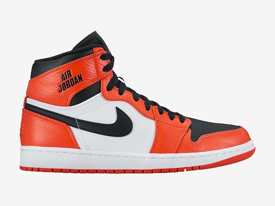nike air jordan orange et noir