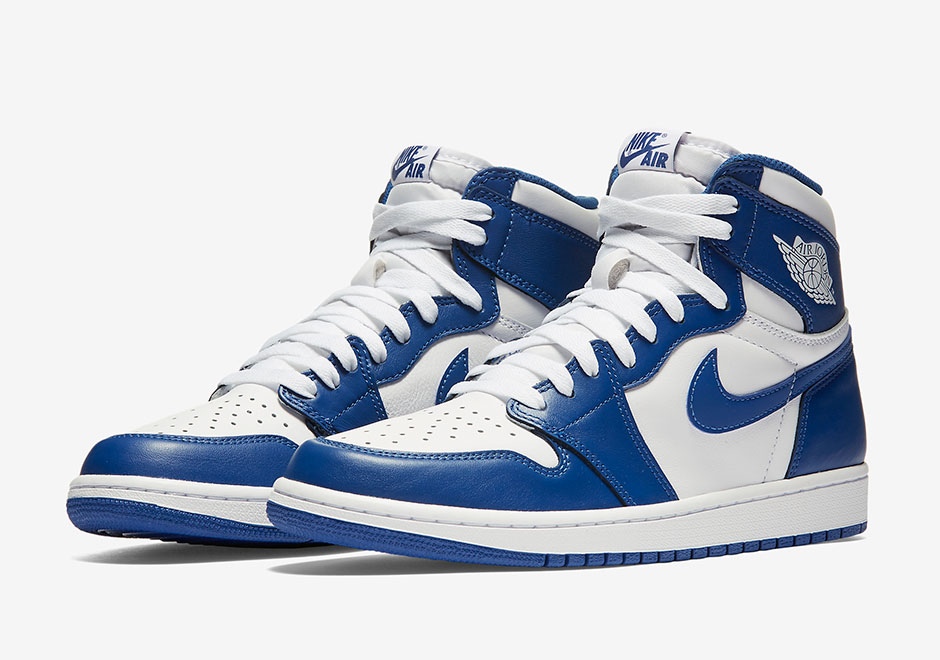 air jordan 1 retro high og storm blue le site de la sneaker. Black Bedroom Furniture Sets. Home Design Ideas