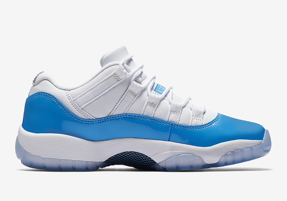 Air Jordan 11 Low Retro University Blue