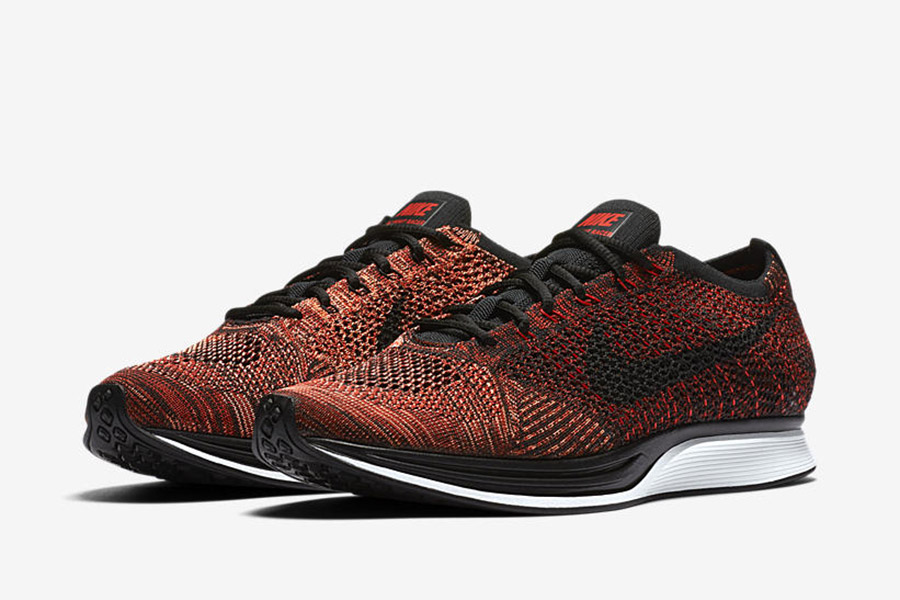 official photos ed13d e1123 Nike Flyknit Racer University Red