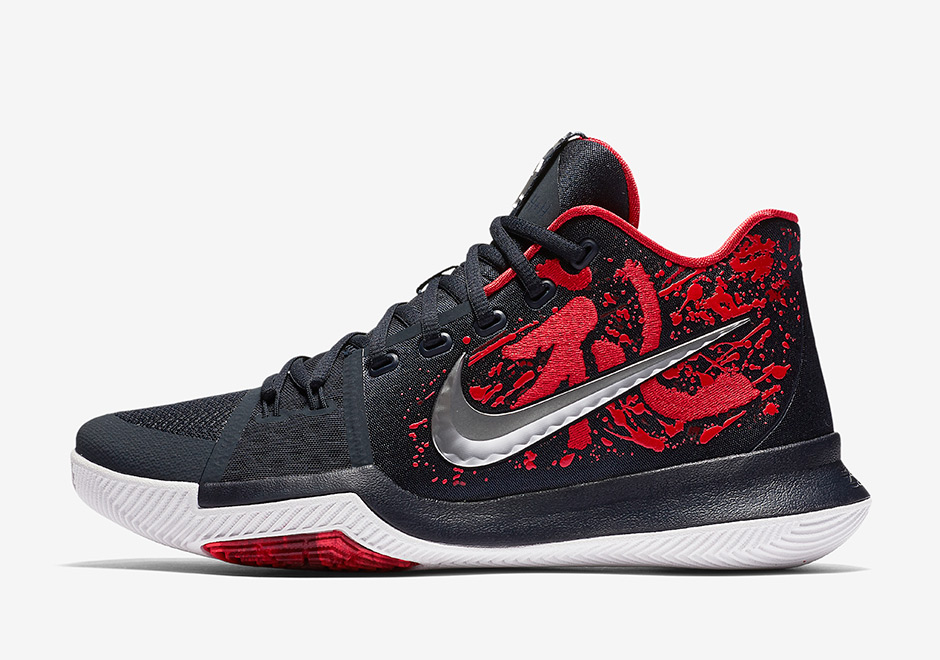 check out ca8aa ef195 ... real nike kyrie 3 samurai 1 f8ed5 dcc07