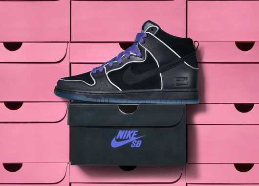Nike SB Dunk High Black Box