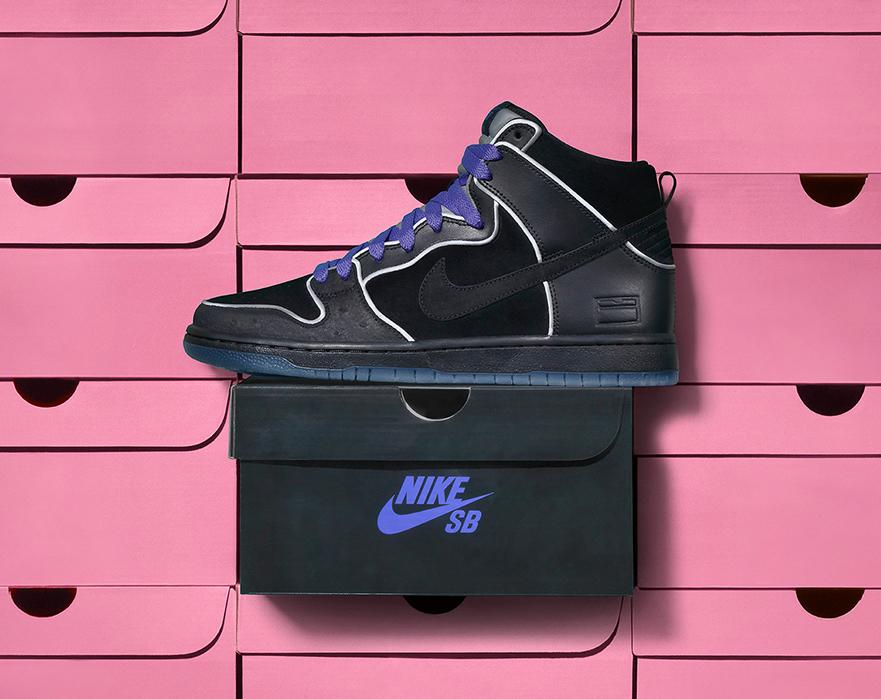 size 40 b3657 13ad1 Nike SB Dunk High Black Box