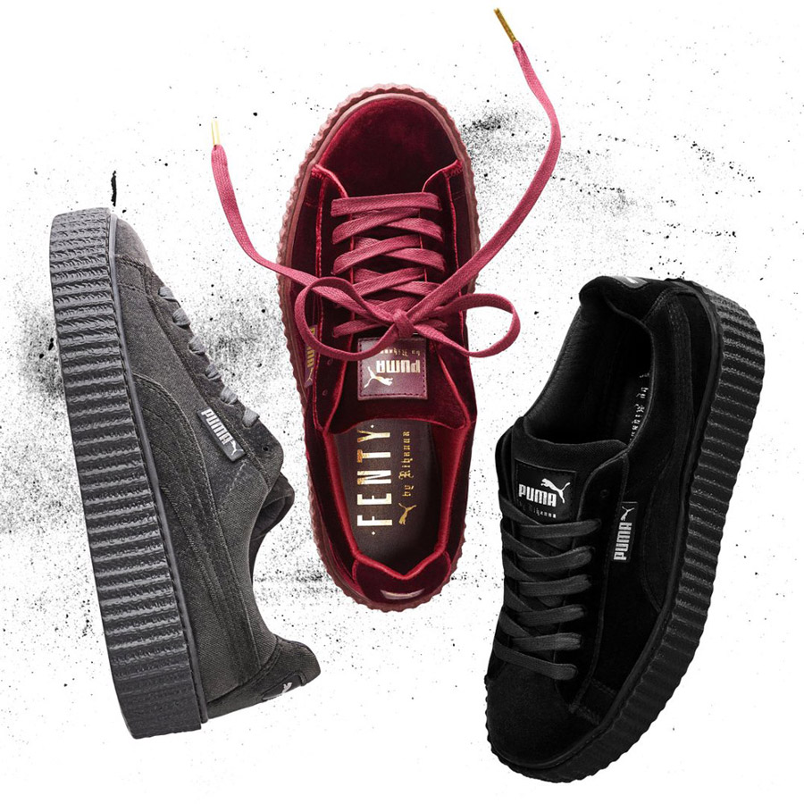 puma creeper velours