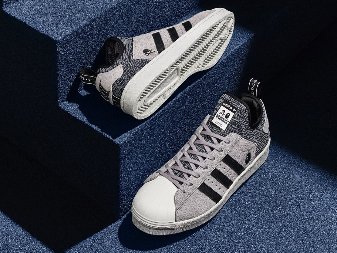 adidas superstar boost x bape x neighborhood,BAPE x