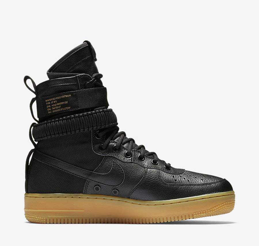 nike special field air force 1 black gum le site de la. Black Bedroom Furniture Sets. Home Design Ideas