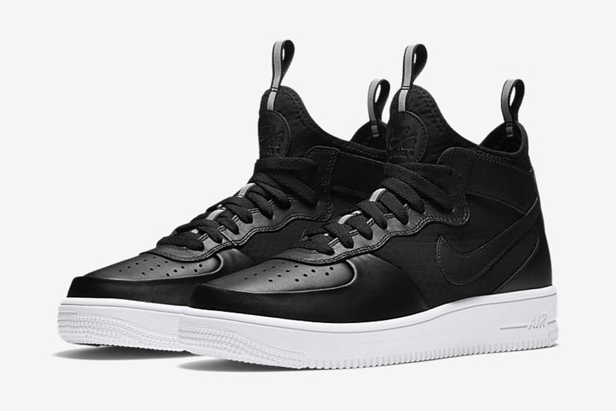 nike air force one black and white