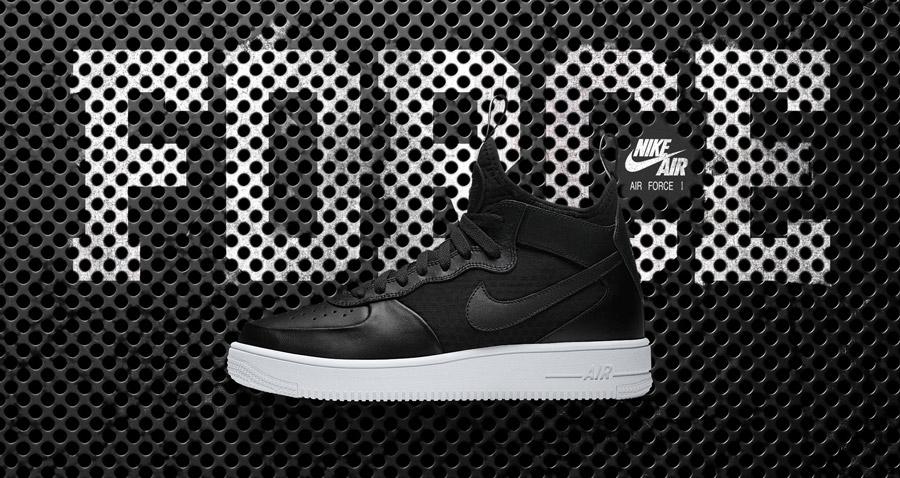 Nike Air Force 1 Ultra Force Mid Black
