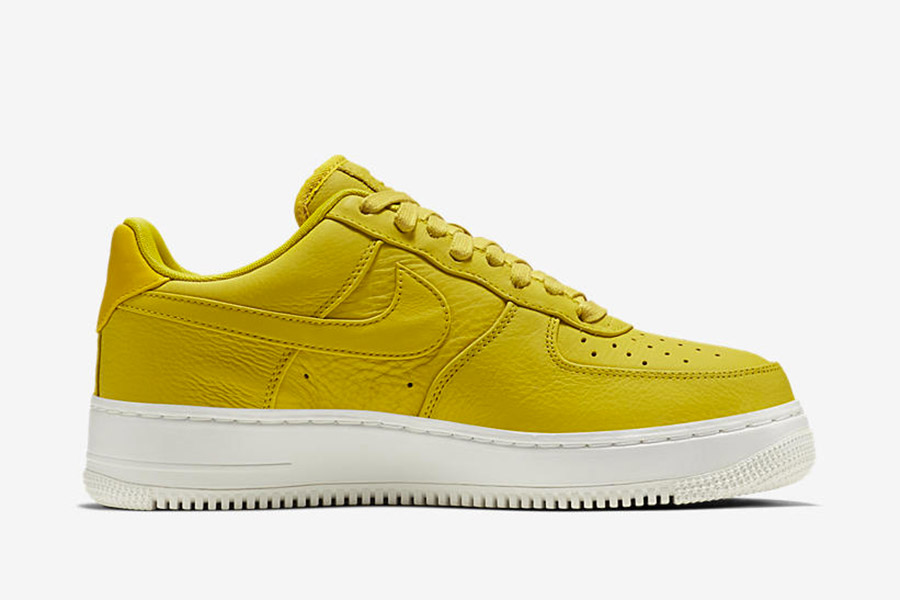 air force 1 cuir jaune