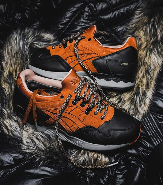 Packer x Asics Gel Lyte V GTX Scary Cold