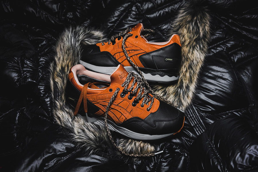 wholesale dealer cf18b a086e Packer Shoes x ASICS GEL-Lyte V Gore-Tex Scary Cold
