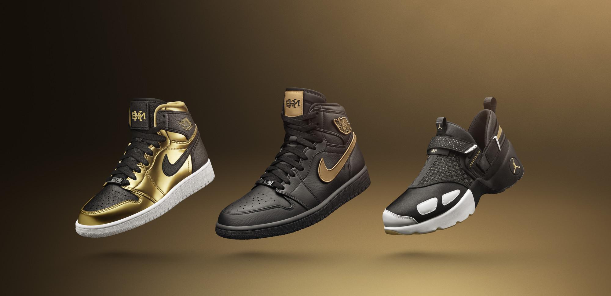 Air Jordan BHM Collection