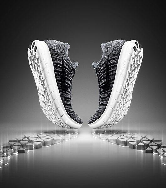 Nike Free RN Flyknit Dynamic Movement