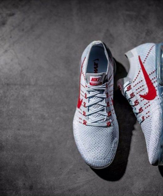 Nike VaporMax Grey Red