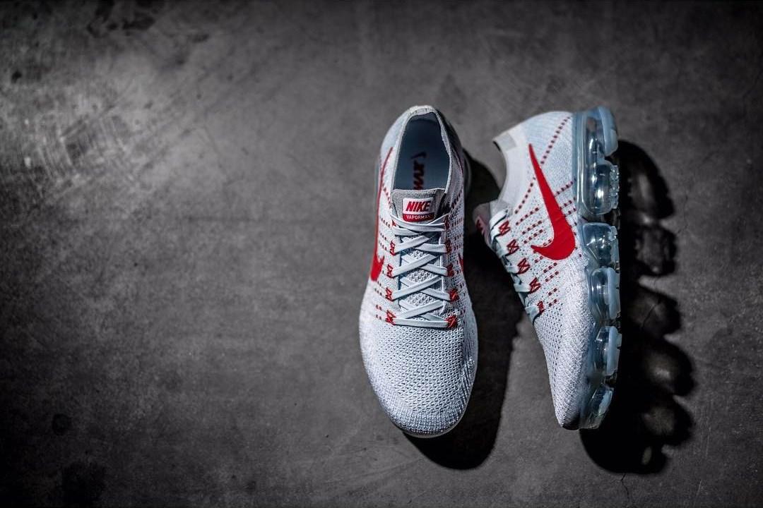 6c6e0c72b17 Preview  Nike VaporMax Grey Red - Le Site de la Sneaker