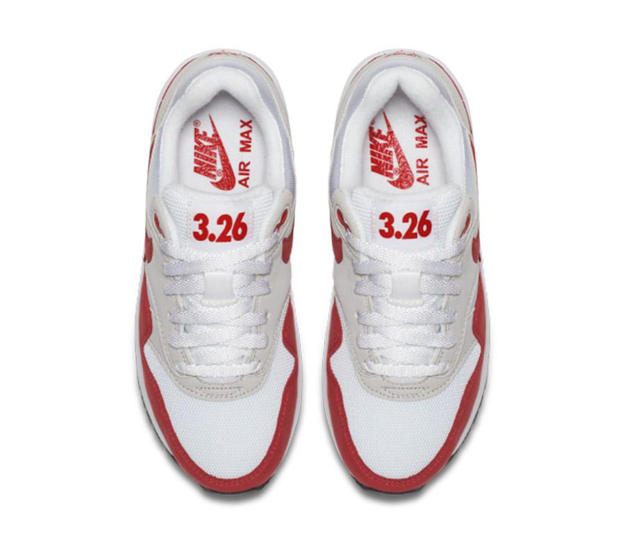 Nike Air Max 1 Enfants Air Max 1 QS (GS) University Or