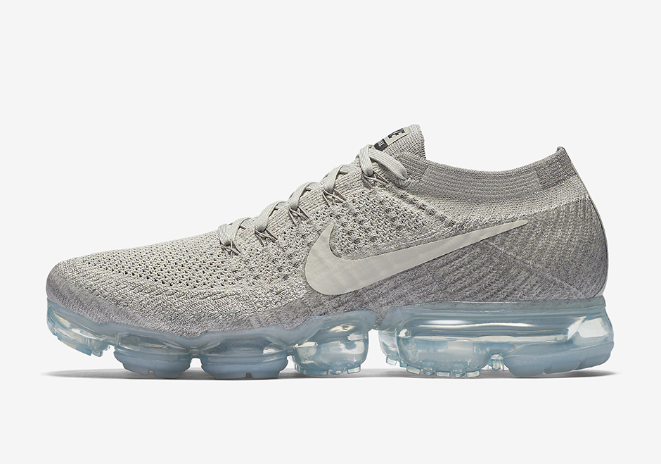 run shoes good quality free shipping Nike Air VaporMax Pale Grey